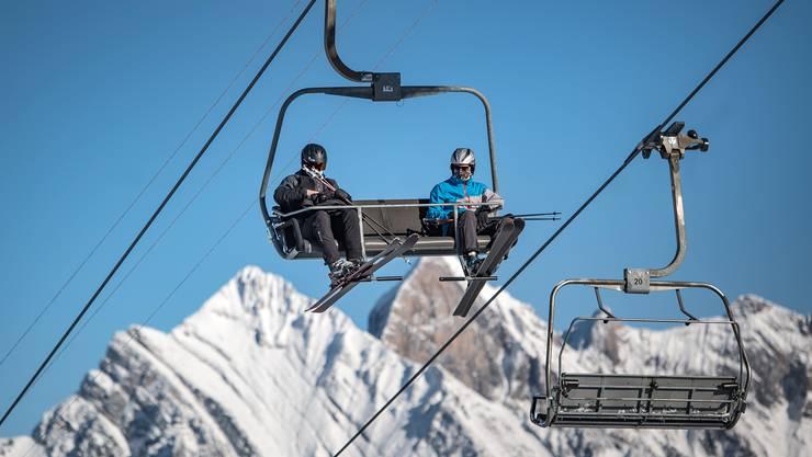 Darf wieder öffnen: Skilift in den Flumserbergen.