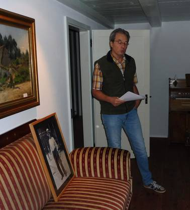 Der Präsident des Historischen Vereins referiert über die Adams und ihr Leben im Adamhaus