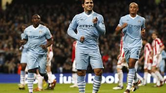 Sergio Agüero Doppeltorschütze für Manchester City