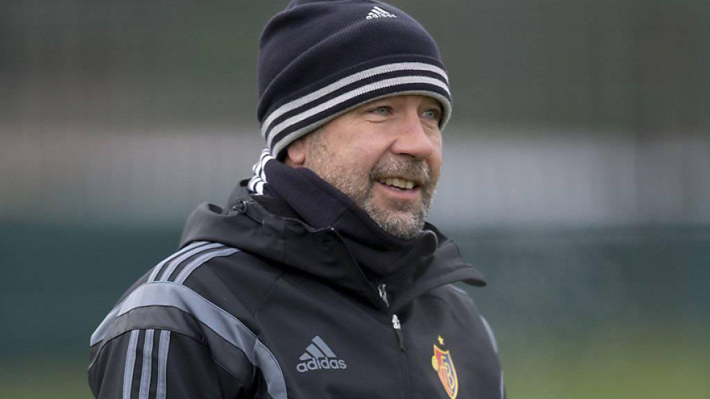 Bereit für den Winter: Basel-Trainer Urs Fischer trifft heute an alter Wirkungsstätte auf Thun