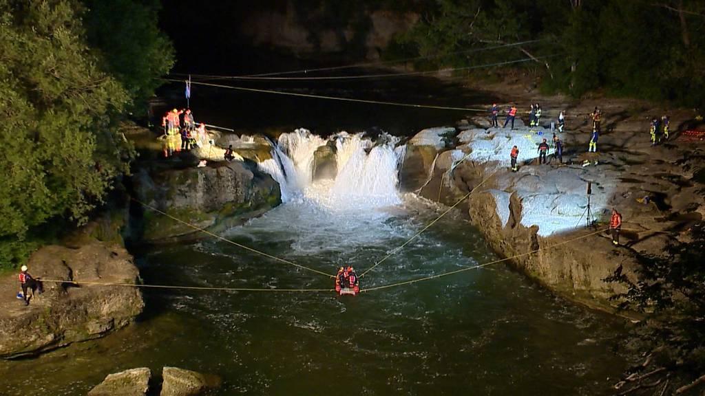 Thur: Kaum Hoffnung mehr für in Wasserfall gestürzte Vermisste