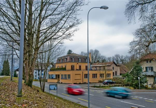 Blick vom Bahnhof Koblenz, der nur einen Steinwurf vom «Verenahof» entfernt ist. (Archiv)