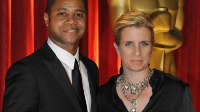 Cuba Gooding Jr. und Noch-Ehefrau Sara Kapfer (Archiv)