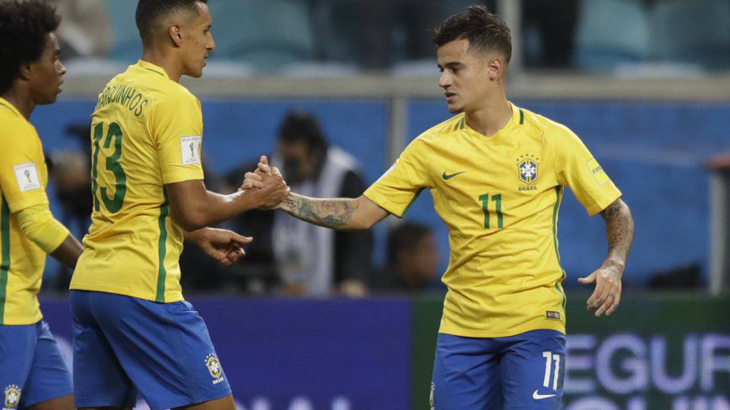 Motiviert und fit, wenn er für Brasilien spielen kann: Liverpools Philippe Coutinho