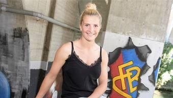 Schweizer Nationalspielerin mit deutschem Pass: Mit ihrem Engagement beim FC Basel will Rachel Rinast dem Herkunftsland ihrer Mutter etwas zurückgeben.Kenneth Nars