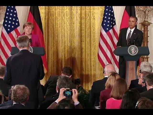 Angela Merkel zu Gast im Weissen Haus – die vollständigen Reden von Obama und der deutschen Kanzlerin.