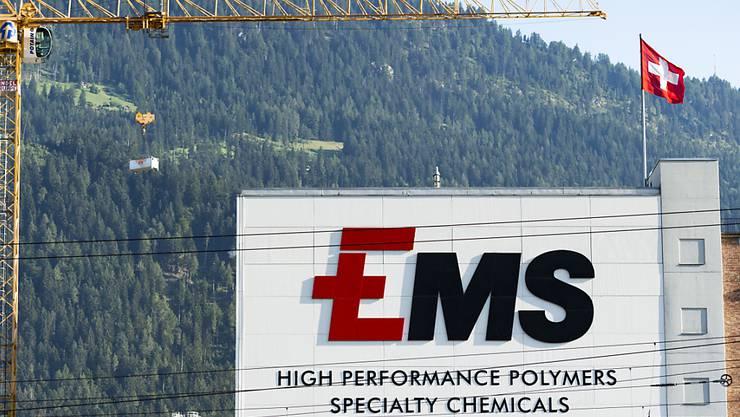 EMS-Chemie wächst weiter und hebt die Dividende an. (Archivbild).