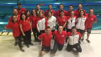 Die SLRG Baden-Brugg räumen an den Schweizermeisterschaften ab.