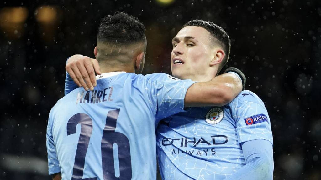 Mahrez führt die City in den Champions-League-Final