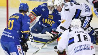 Goalie Joren Van Pottelberghe behält den Überblick und kommt zum ersten Shutout mit dem HC Davos