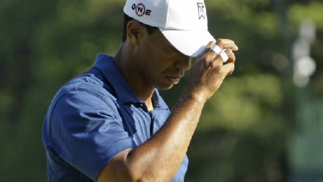 Tiger Woods war in Charlotte völlig von der Rolle