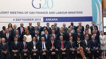 Die Finanzminister und Notenbankchefs der G20-Staaten geben sich nach ihren Beratungen in Ankara trotz des Konjunkturabschwungs in China gelassen.