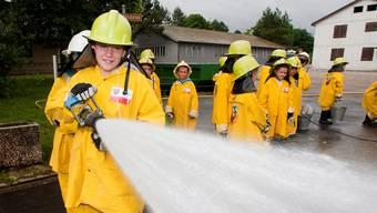 Die Schülertage der Aargauischen Gebäudeversicherung waren im Sommer 2012 ein voller Erfolg