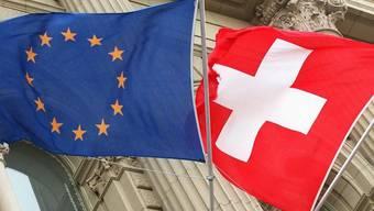 Beziehungen Schweiz - EU sind grundsätzlich gut und umfassend (Symbolbild)
