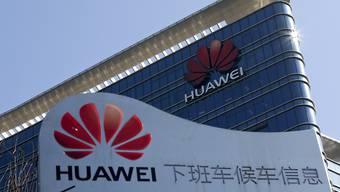 Expansion: Der chinesische Technologieriese Huawei erwartet für das noch laufende Geschäftsjahr eine weitere Umsatzsteigerung. (Archiv)
