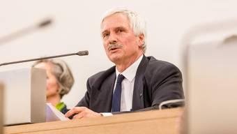 Der ehemalige Grossratspräsident Bernhard Scholl (FDP).