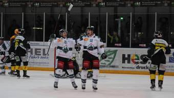 Die letzte Begegnung der Oltner gegen Hockey Thurgau vom 14. November gewannen die Ostschweizer mit 4:3 n.P.