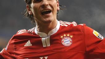 Mario Gomez machte mit seinem Tor zum 3:1 für die Bayern alles klar