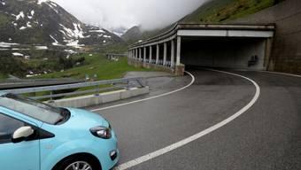 Vor einem Jahr: Der Gotthardpass am 23. Mai 2014 in Airolo