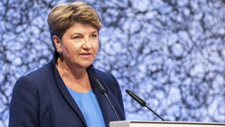 Viola Amherd, Sportministerin.