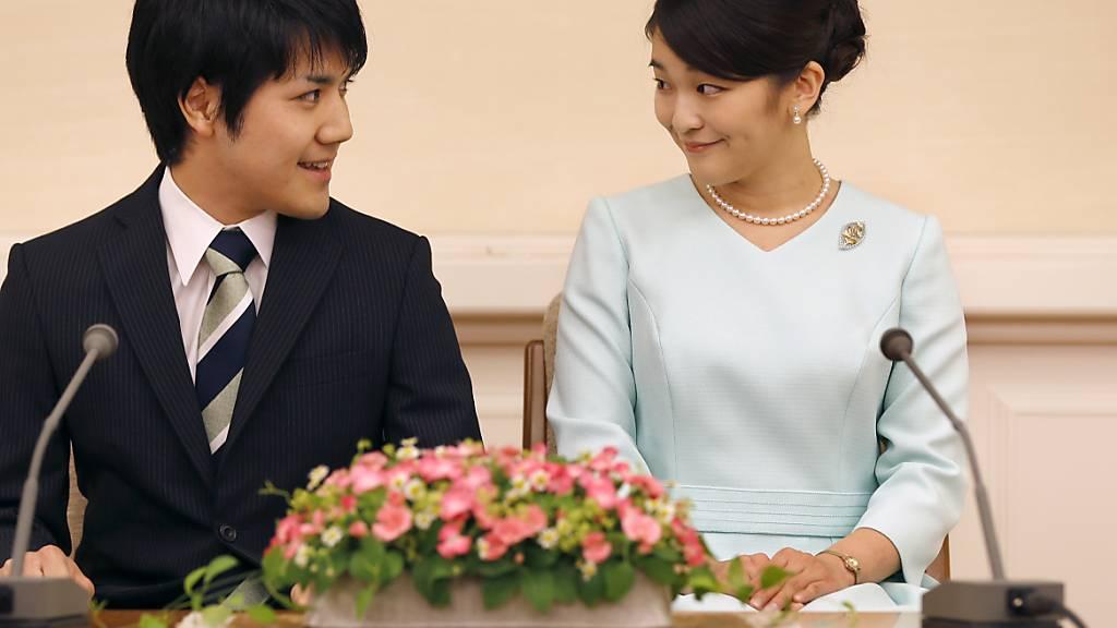Japans Prinzessin Mako hat geheiratet - Kontroverse dämpft Freude