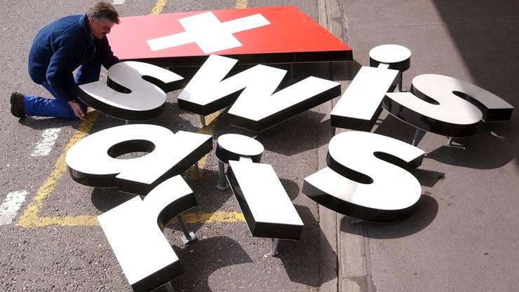 Die Swissair-Marke hat noch heute viele Anhänger.