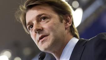 Der französische Finanzminister François Baroin will zurzeit kein Abkommen mit der Schweiz (Archiv)