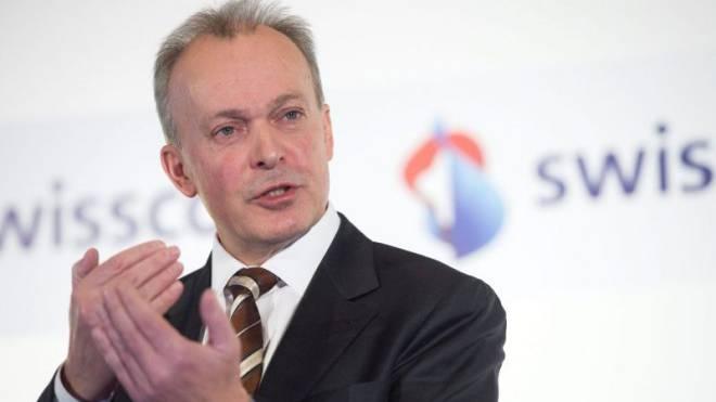 Urs Schaeppi will als Swisscom-CEO mit SRG und Ringier ein Joint Venture eingehen. Foto: Keystone
