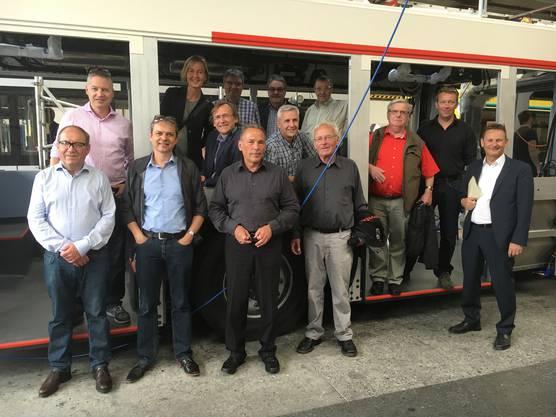 Die Fraktion besuchte die Hess AG in Bellach, das Witi-Zentrum in Altreu, die MANN Beerenkulturen in Selzach, Tischlein deck dich, die Pro Work und das Kunsthaus in Grenchen. Die Teilnehmer waren in allen Gruppen begeistert.