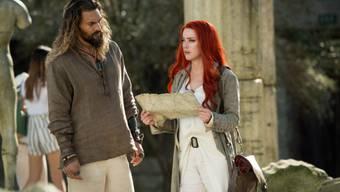 """Die Comicverfilmung """"Aquaman"""" hat am Wochenende vom 3. bis 6. Januar 2019 am meisten Publikum in Nordamerikas Kinosäle gelockt. (Archiv)"""