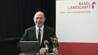 Ohne die ausserordentlichen Aufwände für die milliardenschwere Sanierung der BLPK hätte Anton Lauber bereits 2015 und 2016 Überschüsse präsentieren können.