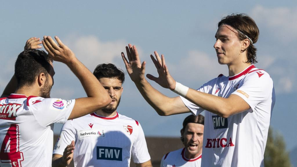 Promotion-Ligist Rappi verliert nur 1:2 gegen Sion