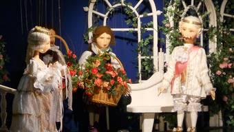 Reichhaltig ausgelastet: Das Märchen «Dornrösli» in der Inszenierung von Jiri Jaros für die Marionettenbühne Unterengstringen.