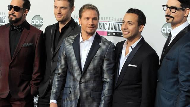 Die Backstreet Boys (v.l.): Alexander James McLean, Brian Littrell, Nick Carter, Howie Dorough und Kevin Richardson(Archiv)