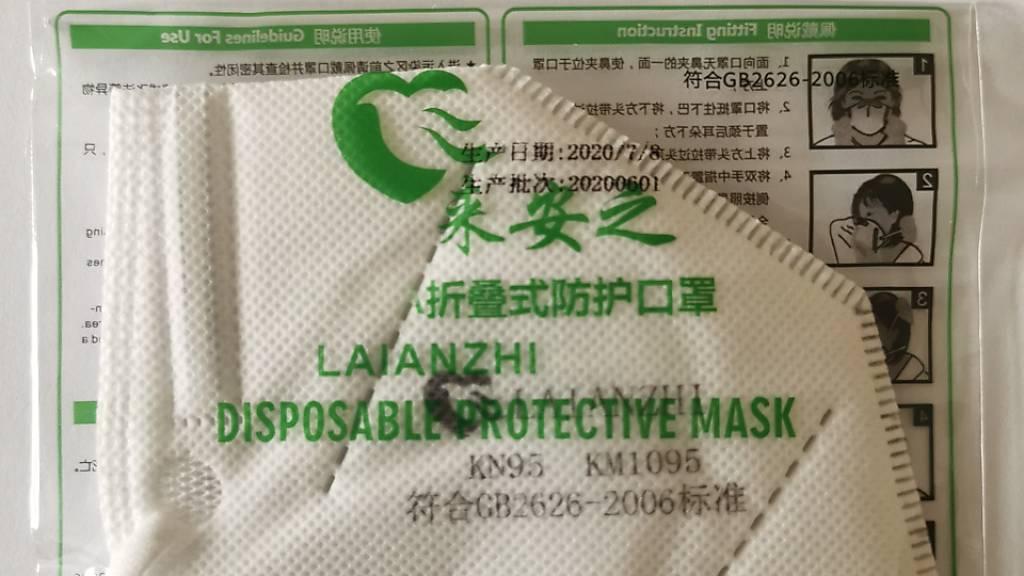 Mangelhafte Atemschutzmaske zurückgerufen