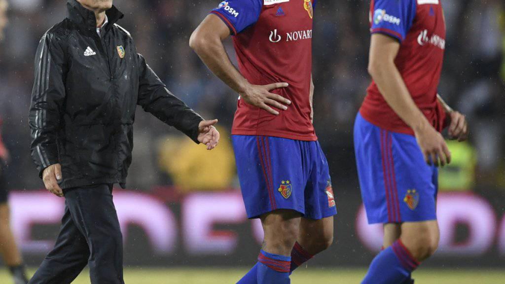 Basel dagegen muss sich in der Gruppenphase der Europa League aufraffen