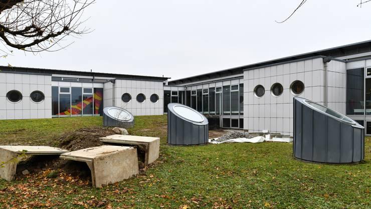 Die Sanierung des Meridian-Flachdachs schlägt im Investitionsbudget mit 275'000 Franken zu Buche.
