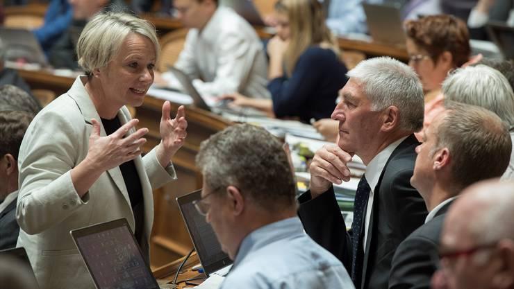Elisabeth Schneider-Schneiter will künftig im Nationalrat noch stärker für die regionale Wirtschaft lobbyieren.