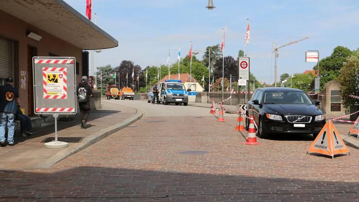 Seit Mitte März kommt auch in Rheinfelden nur noch über die Grenze, wer einen triftigen Grund hat.