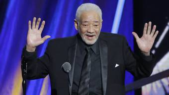 "Bill Withers, 2015, bei seiner Aufnahme in die ""Rock and Roll Hall of Fame""."