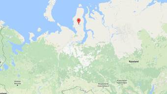 Auf der russischen Jamal-Halbinsel hat ein Helikopter-Absturz 19 Menschen das Leben gekostet. (Bild googlemaps)