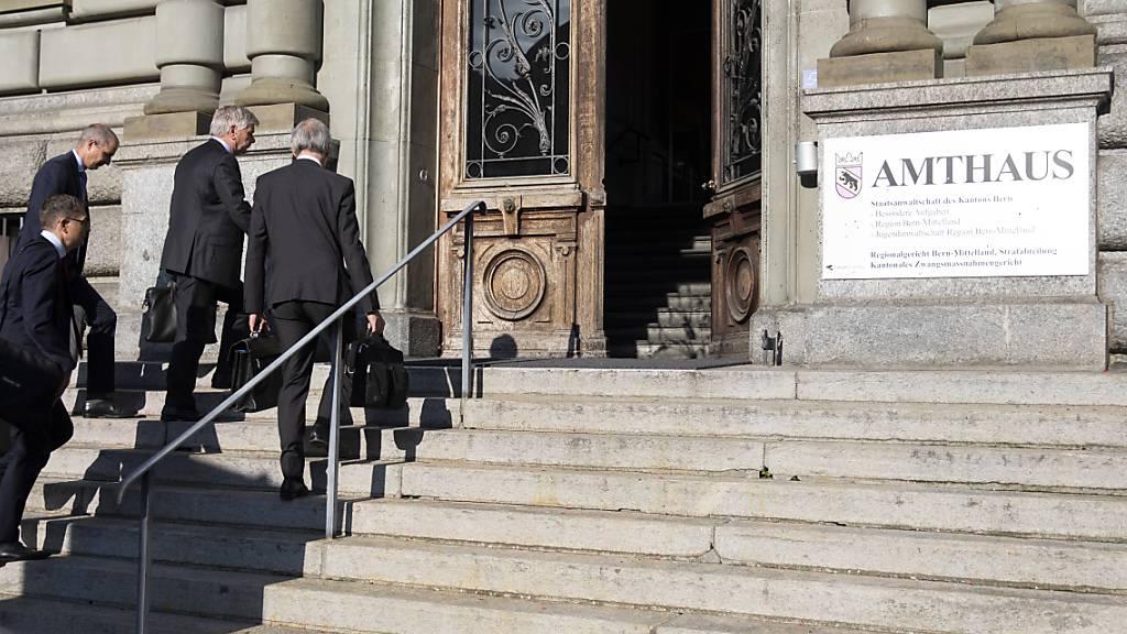Im Berner Amthaus fand der Prozess gegen den Reeder statt.