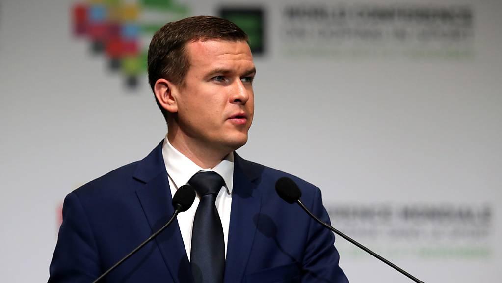 Witold Banka, der neue WADA-Präsident
