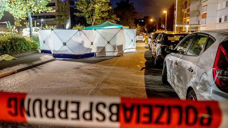 ARCHIV - Ein Tatort in Stuttgart im August 2019. Foto: Sven Kohls/SDMG/dpa