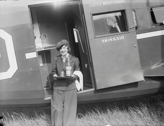 Nelly Diener servierte ihren Passagieren selbstgeschmierte Brote.