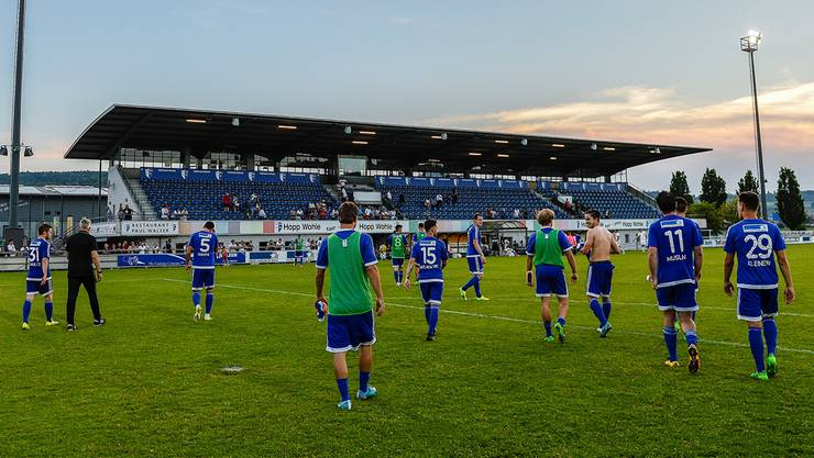 Heute Abend findet das letzte Challenge-League-Heimspiel des FC Wohlen statt