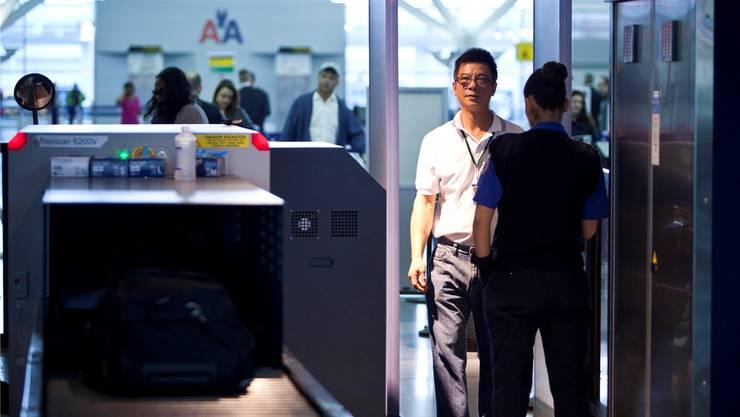 TSA: Inkompetente Security.REUTERS