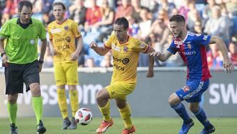Raphael Nuzzolo bringt Xamax zum Punktgewinn gegen Basel