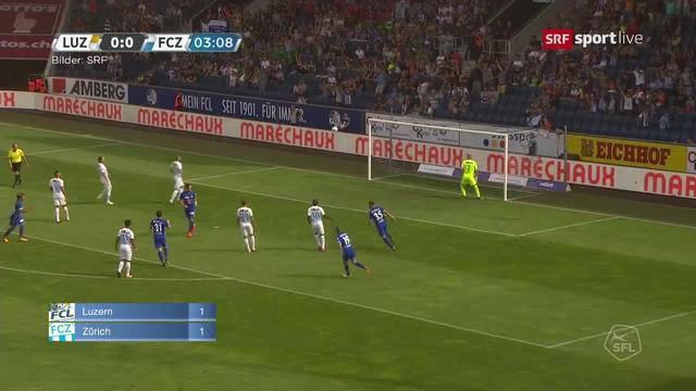 FCZ - FC Luzern / GC - FC Lausanne / FC Lugano - FC Thun / FC St. Gallen - YB