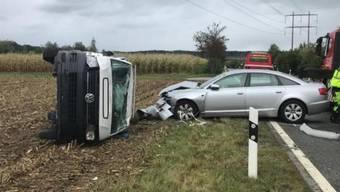 Im Zürcher Oberland kam es dieses Wochenende bei Volketswil zu einem Serien-Unfall.